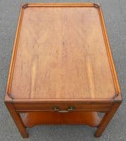 Yew Two Tier Coffee Table by Reprodux - SOLD